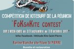 compétition de kitesurf à la reunion…23-24 septembre….